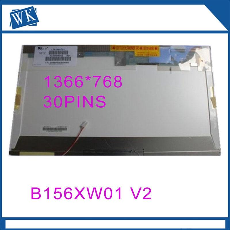 Free Shipping B156XW01 V2 V1 V0 V3 LTN156AT01 LP156WH1 TLC1 CLAA156WA01A N156B3-L02 15.6inch LCD screen 1366*768 LVDS 30pinFree Shipping B156XW01 V2 V1 V0 V3 LTN156AT01 LP156WH1 TLC1 CLAA156WA01A N156B3-L02 15.6inch LCD screen 1366*768 LVDS 30pin