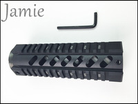 7'' T Series Free Floating Hand Guard Quad Picatinny Rail Mount System Free 20x Rubber Covers