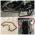 motorcycle Black Saddlebag Guards Bracket For Harley Touring Electra Glide FLHT 2014-2016