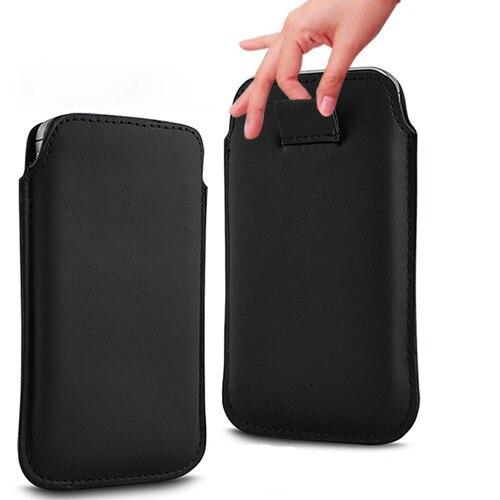 Bolsa de cuero de la pu bolsas móvil casos 13 colores pouch case iuni i1 teléfon
