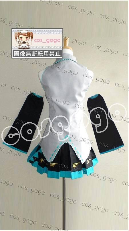 Vocaloid Cosplay Hatsune Miku Cosplay conjunto completo de trajes - Disfraces - foto 6