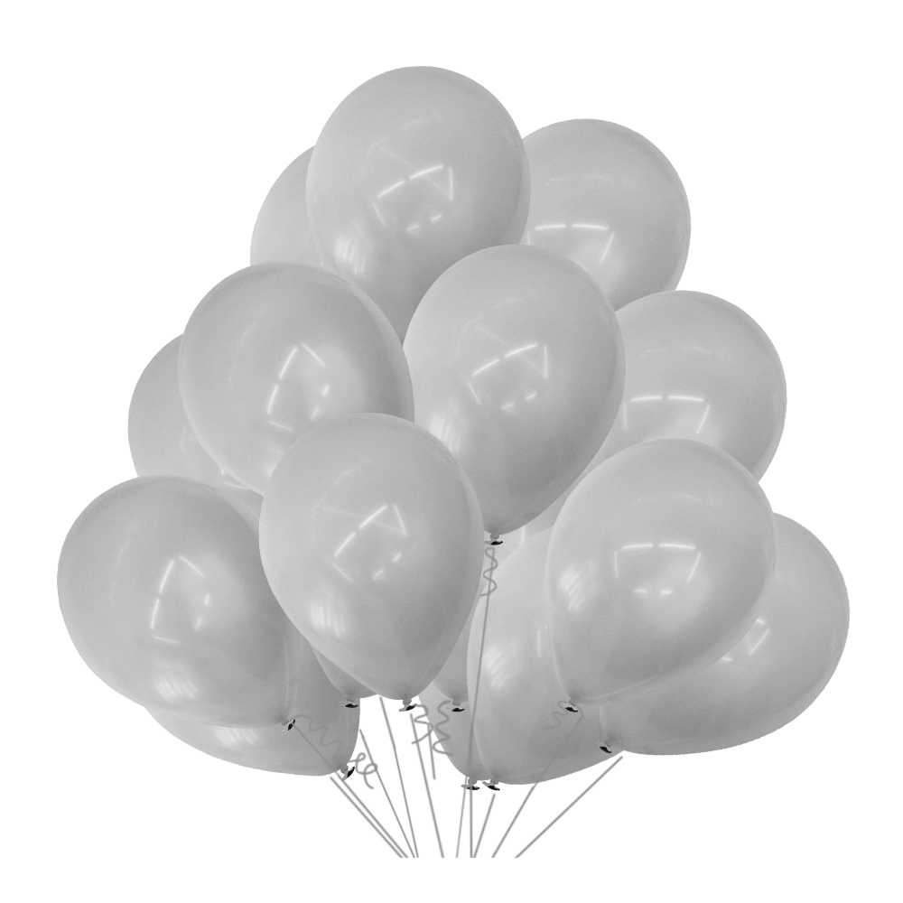 10 inch gray latex balloon Round Shape ball Pearl Balloons Wedding Birthday party decorations children toy pary decor