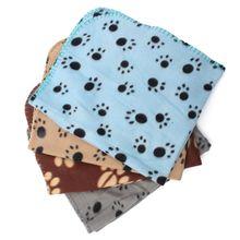 Кота собаки любимчика Одеяло щенок флис; Симпатичные Теплые мягкие Полотенца коврик для больших собак Щенок Кровать Стёганое Одеяло ванна Полотенца ПЭТ подушки сиденья автомобиля