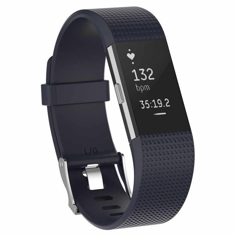 Best Wristband Cinturino Da Polso Smart Watch Band Strap Morbido Cinturino Di Ricambio Fascia Per La Misura po 'di Carica 2 Smartwatch fitbit Charge2