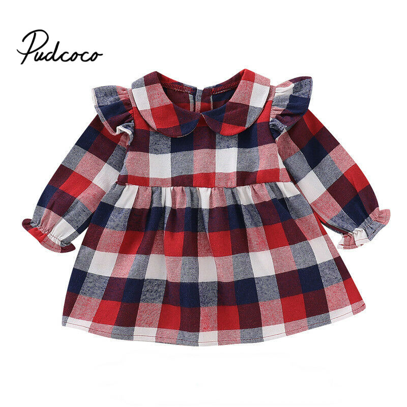 pudcoco 2019 Dresses For Girls Princess Costume Kids Infant Clothes Child Carnival Party
