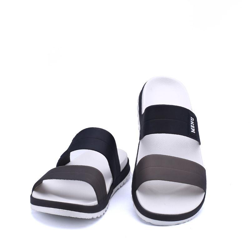LAISUMK Summer Beach Men Slippers Casual Shoes Double Buckle Man Slip on Flip Flops Flats Camouflage Flip Flop Indoor & Outdoor 78