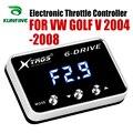 Автомобильный электронный контроллер дроссельной заслонки гоночный ускоритель мощный усилитель для Volkswagen GOLF V 2004-2008 Тюнинг Запчасти аксес...