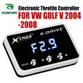 Auto Elektronische Gasklep Controller Racing Gaspedaal Potent Booster Voor Volkswagen GOLF V 2004-2008 Tuning Onderdelen Accessoire