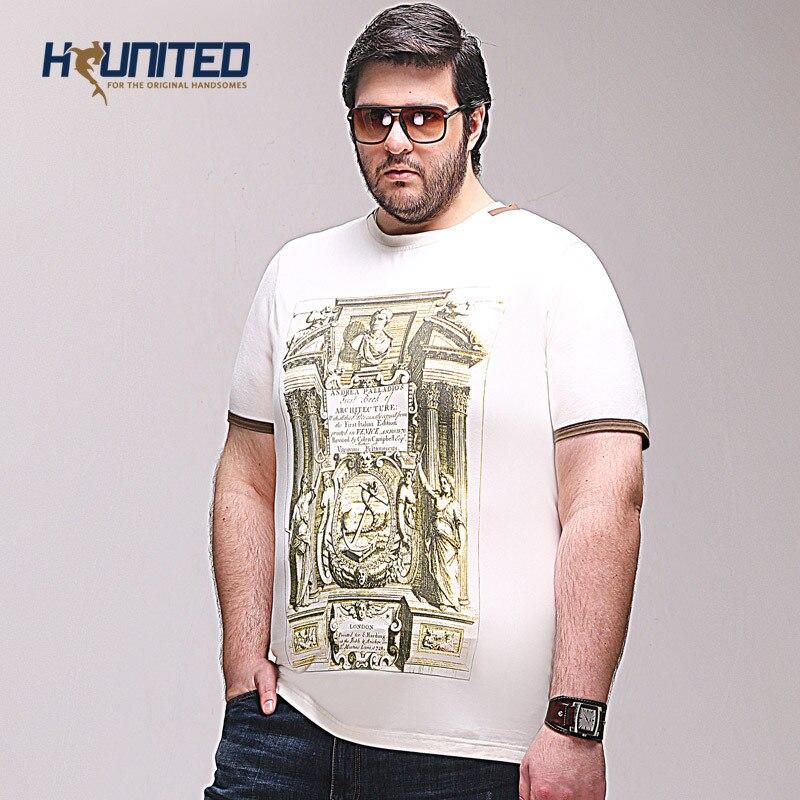 Plus Size Tshirts:EU US Fashion Casual O neck T Shirt Man ...