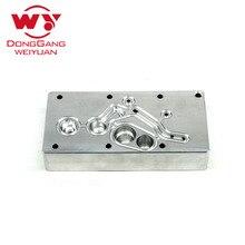 Vendita calda del motore diesel pompa urea parte piastra di alluminio, 2 pz/set per la vendita