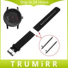 20mm correa de reloj de caucho de silicona con los pernos de liberación rápida para garmin vivomove smart watch band correa para la muñeca de resina pulsera de los deportes