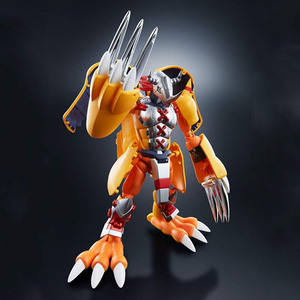 Image 5 - BANDAI Digivolving duchy Digimon potwór Agumon WarGreymon model postaci modyfikacji deformowalne