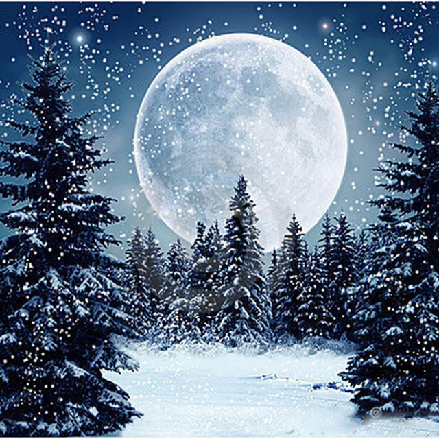 Diy мозаика квадратный алмаз живопись пейзаж дерево зима снег Вилла горный хрусталь полный полный комплект для вышивки крестом 20*20 см