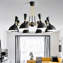 Nordic post-modern hanging lights creative Fixtures Novelty living room chandelier bedroom restaurant LED chandeliers