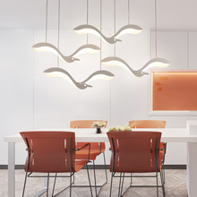 Bedroom European Seagull Chandelier Dining Bedside Bar Led Lamp Room Lighting