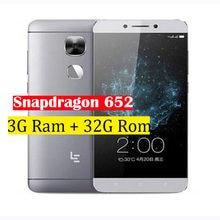 Letv – téléphone portable LeEco Le 2, Snapdragon 652 Octa Core, 5.5 pouces, 3 go de Ram 32 go de Rom, 1920x1080, 16mp, identification par empreinte digitale, Original