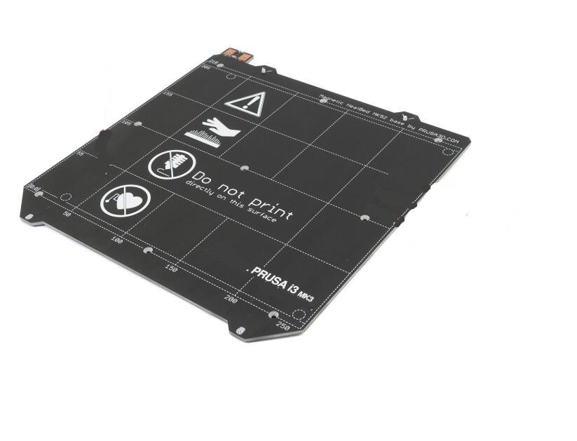 12V Prusa i3 mk2/mk2s upgraded mk2.5 PCB heated bed, with magnets(Presale)
