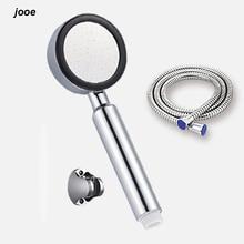 Jooe ручной высокого давления насадка для душа abs с chrome экономии воды насадка для душа аксессуары для ванной комнаты насадка для душа душ