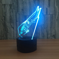 Mini Led Usb 3d Lights Battery Powered Mini Table Lamps Novelty Creative Gifts For Valentines Day