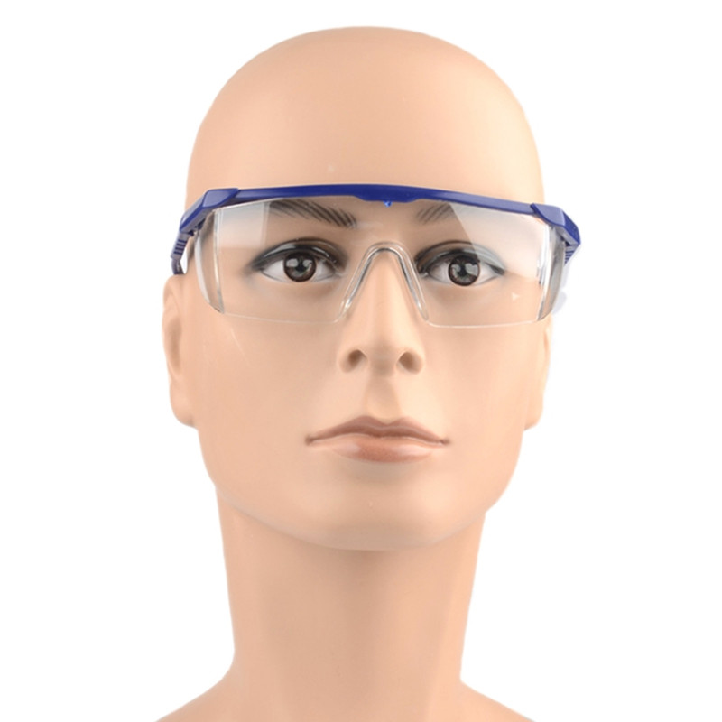 Safety Glasses Protective Shield Transparent Glasses Eyes Protection Anti Dust Saliva Virus Goggles Outdoor Safety Equipment