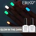 Elite99 1 unids dulces esmalte de uñas de arte de laca de uñas laca de uñas de neón, Glow In The Dark luminoso Fluorescente Esmalte de Uñas