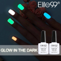 Elite99 1pcs Candy Nail Art Varnish Nail Lacquer Neon Nail Lacquer, Luminous Fluorescent Nail Polish Glow in the Dark