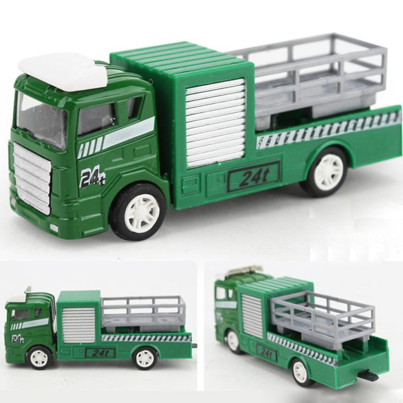 Mooistar # 4066D 1: 64 сплав инженерной игрушка добыча автомобиль грузовик детский день рождения подарок Пожарная служба