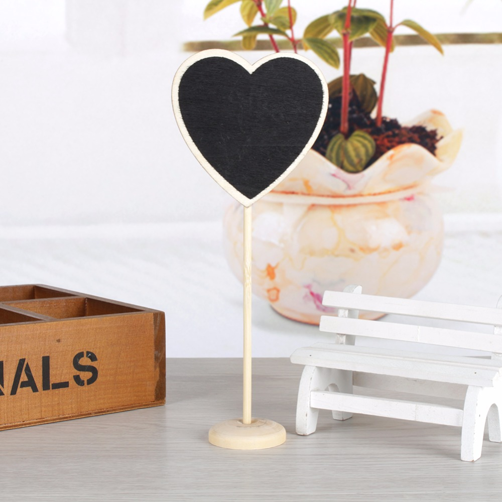 5Pcs Small Blackboard with Stand Place Wedding Party Table Decoration Table Number Sign Number Tag all For Wedding