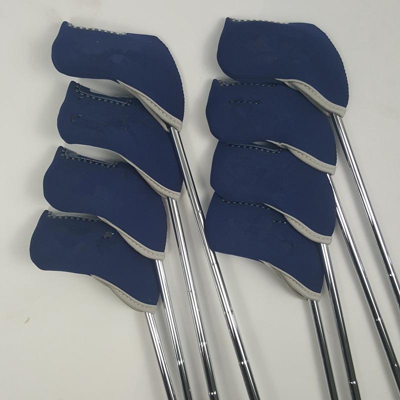JPX 900 Golf Irons Set Golf Smedede Irons Golfklubber 4-9PG Regelmæssig og Stiv Flex Stålaksel Med Hoved Cover