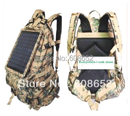Quality Solar Charger-pc Backpack-Solar Battery Pack7.5w-Battery-LED indication-solar battery pack-Lighting Power-Rabbit freight