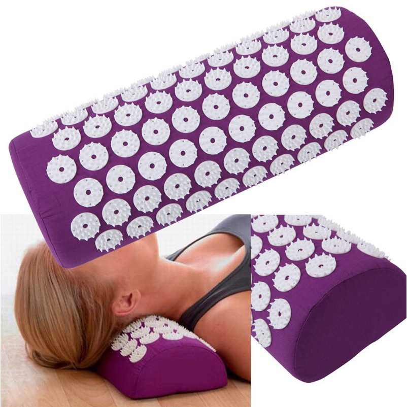 Massager Pillow  Head Neck Massager Acupressure Relieve Stress Relaxation Pillows Acupuncture Pain Treatment Health Care 4d massager