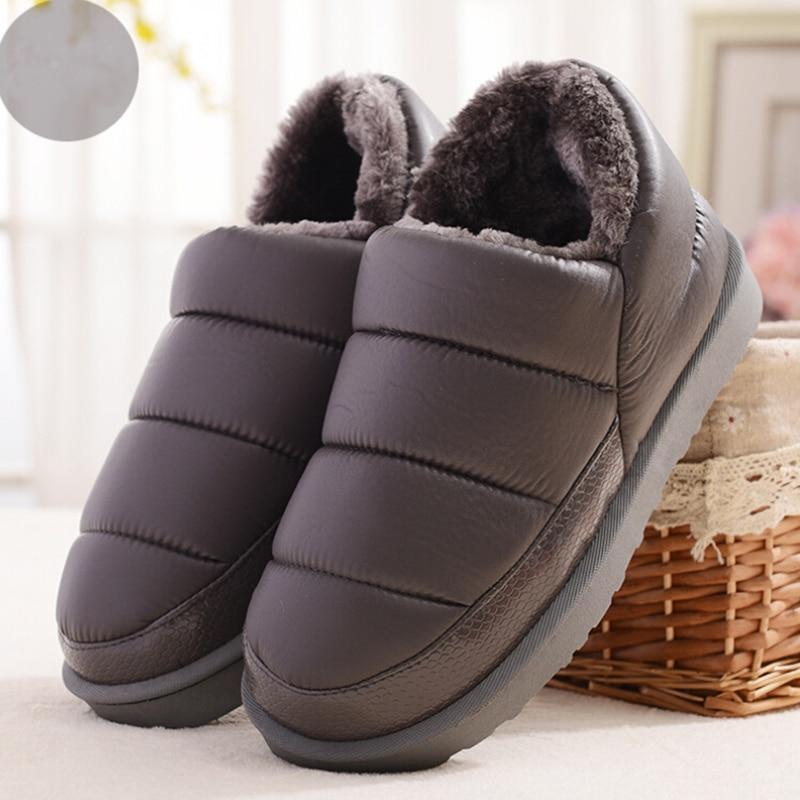 Novi muški čizme za snijeg 2017 topli pliš zgusnuti zimski - Muške cipele - Foto 3