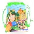 1 шт. Pirate Captain Дети школьный рюкзак дети birthday party Пользу, Mochila эсколар, школьники backpackA7410