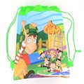 1pcs Pirate Captain Kids schoolbag backpack kids birthday party Favor, Mochila escolar, school kids backpackA7410