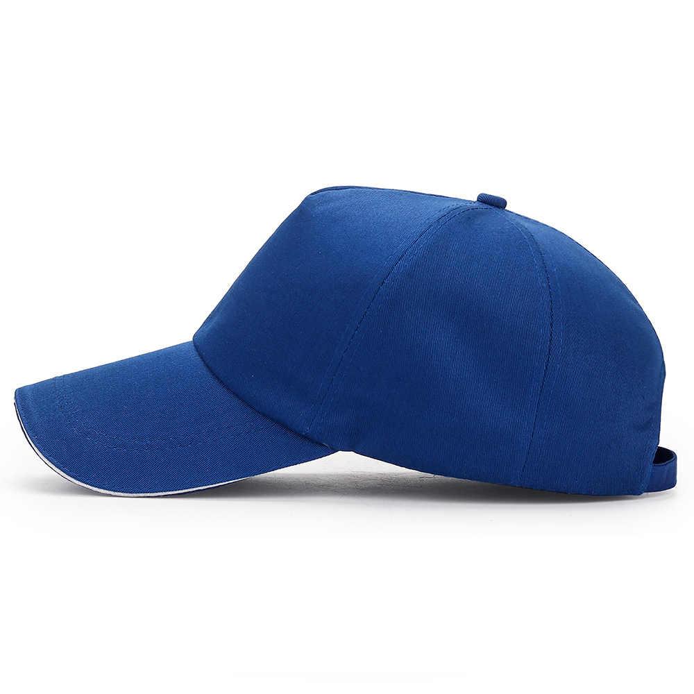 2019 nouveau mode hommes casquette de Baseball femmes plaine courbé coton chapeaux pare-soleil chapeau solide couleur réglable casquettes Gorras casquette