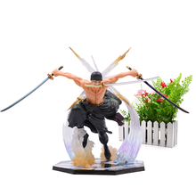 Anime One Piece Luffy Zoro Boa Hancock PVC Action Figure Battle Ver Great Collectible Model Gift Toy For Children 7 one piece monkey d luffy battle ver figuarts zero boxed pvc action figure collection model toy gift