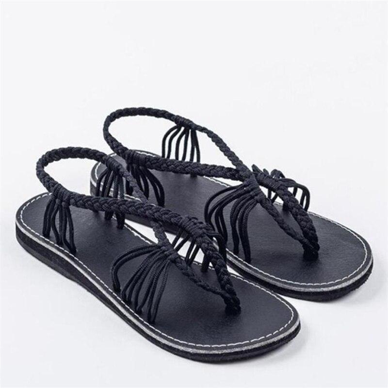 Beducht Nieuwe!! Vrouwen Flip Flops Sandalen Schoenen Slippers Mode Strand Schoenen Sandalen Femme 2018 Nouveau Modieuze A0521 #30