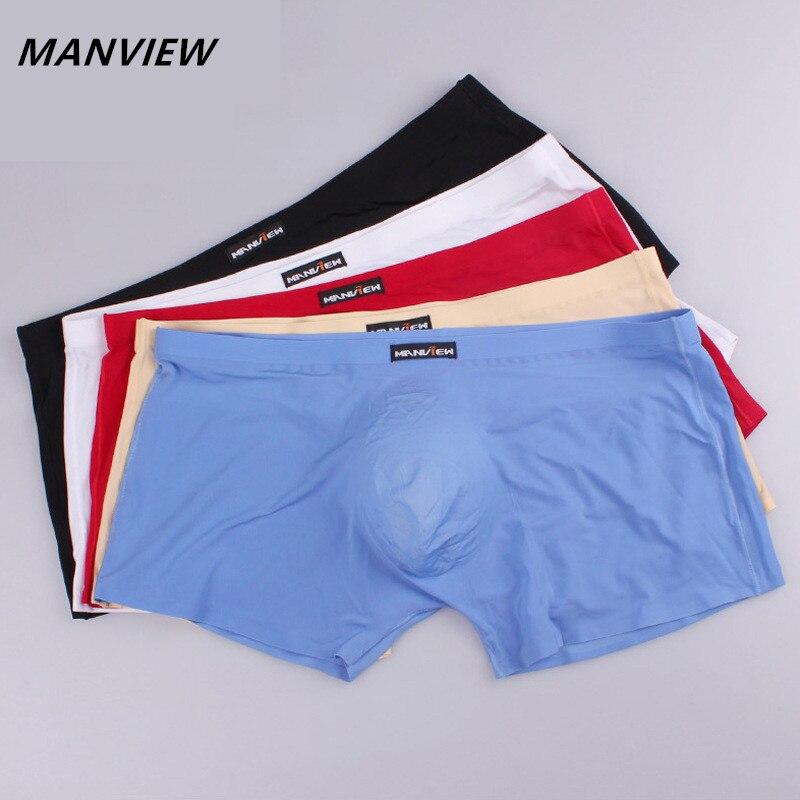 100% QualitäT Manview Marke Transparent Sexy Männer Unterwäsche Boxer Netz Homosexuell Unterwäsche Männer Shorts Größe Xxl Reines Und Mildes Aroma Unterwäsche & Schlafanzug