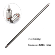New 13.7 length Spring Loaded Beer Bottle Filler Home Brewing Stainless Steel Wine Bottling Homebrew