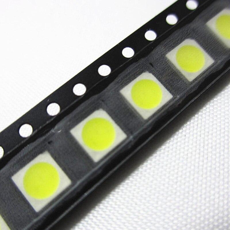 6 3-chips Diodo Led Luz Roja Alta Potencia 1000PCS SMD 5050 PLCC