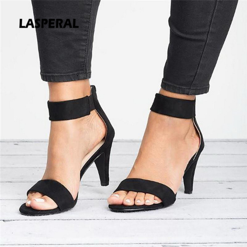 Women Wedge Heel Sandals,Jchen Ladies Closed Pointed Toe Color Block Wedges Sandals Ankle Strap Zipper Casual Shoes