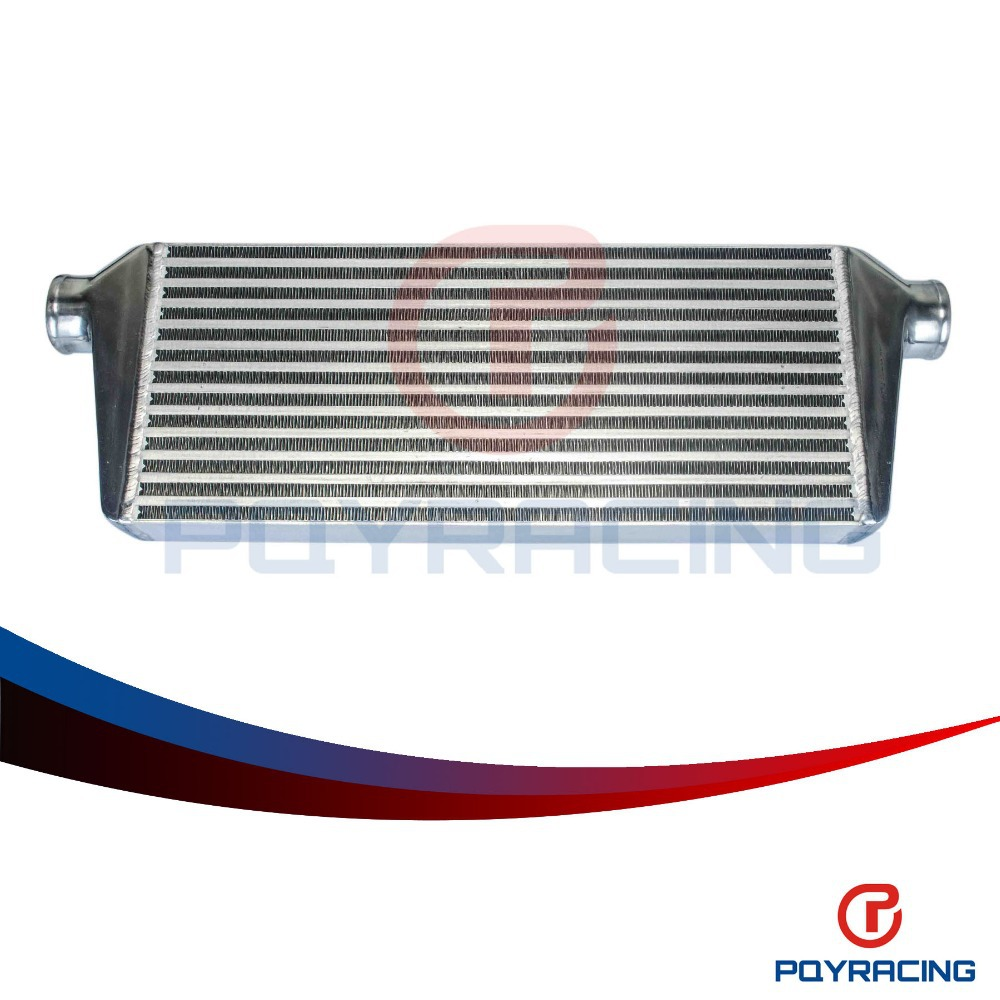 PQY RACING- 550*230*65mm Universal Turbo Intercooler bar&plate OD=2.5 Front Mount intercooler PQY-IN813-25 epman universal aluminum water to air turbo intercooler front mount 250 x 220 x 115mm inlet outlet 3 5 ep sl5046d