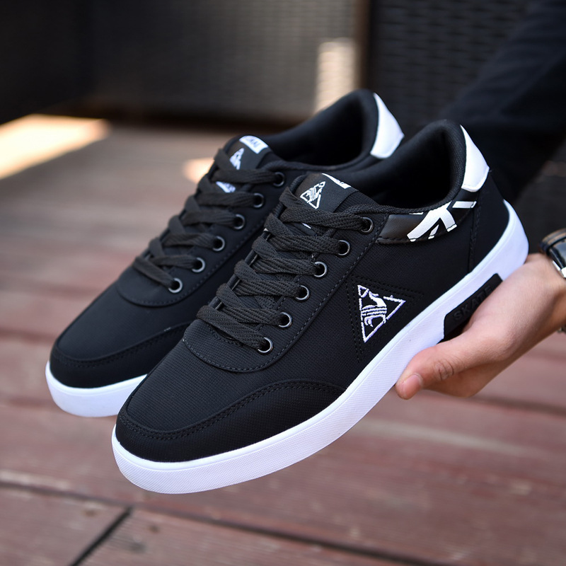 Fashion Arrivals Mens Brand Casual Fashion Canvas Shoes Street Leisure Sneakers Man Footwear Male Adult Tenis Masculino Adulto(China)
