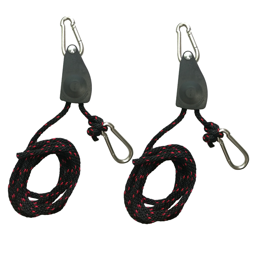 2PC/1PC 150lbs Kayak Canoe Boat Bow Stern Tie Down Ratchet Strap Hook Pulley Adjustable Strap Rope Lock Hanger