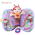 Brinquedos do bebê Livro de Pano Macio Farfalhar de Som Infantil Educação Aprendizagem Precoce Chocalhos de Brinquedo Carrinho De Criança Berço Recém-nascidos Brinquedos Do Bebê 0-12 Meses