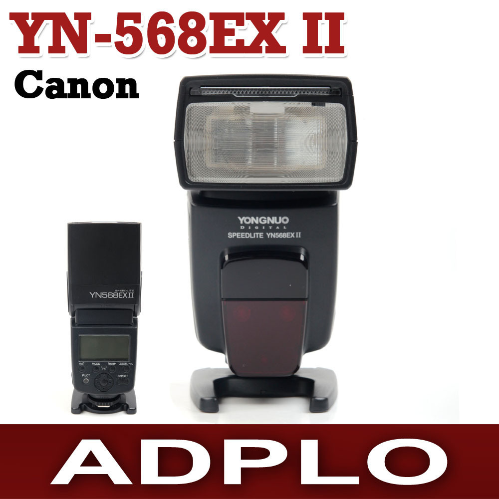 Yongnuo YN-568EX II Master & Slave HSS Wireless TTL Flash Speedlite Suit For Canon 70D 650D 1D series 5DIII 5DII 580EX 430EX II yongnuo 3x yn 600ex rt ii 2 4g wireless hss 1 8000s master flash speedlite yn e3 rt flash trigger for canon eos camera 5d 6d