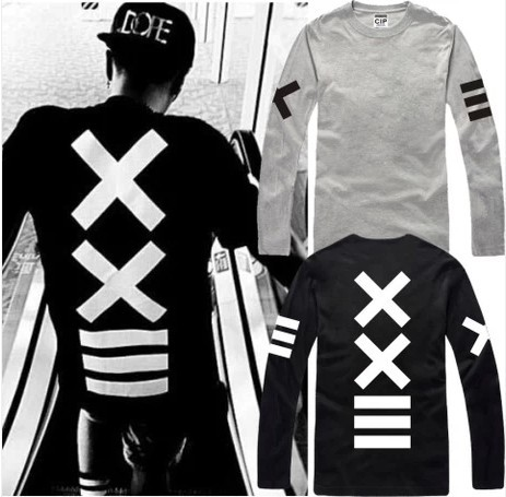 2016 New Men And Women Thin T-Shirt <font><b>Japan</b></font> Street Corner <font><b>Hip-Hop</b></font> Long Sleeve t Shirt Men Loose Fashion Casual Brand T-Shirts