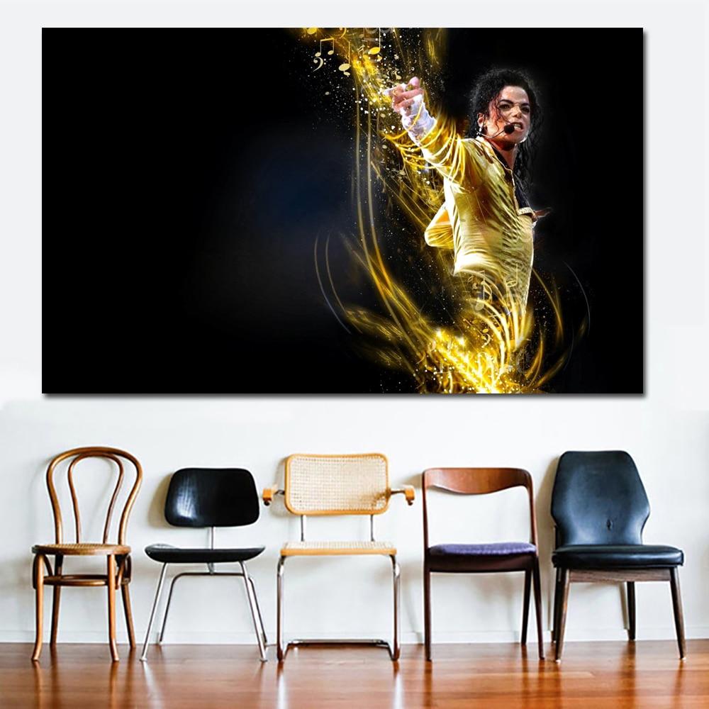 buy selflessly popular rock music wall poster michael jackson music singer fire. Black Bedroom Furniture Sets. Home Design Ideas