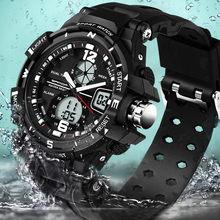 SANDA 289 Luxury Watch Men Fashion Waterproof Analog Sports Quartz Wrist Watch Mens Watches Top Brand luxury reloj mujer