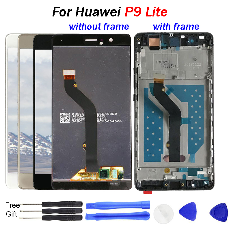 For Huawei P9 Lite LCD Display VNS L21 VNS L22 VNS L23 VNS L31 LCD Touch Screen Digitizer Assembly P9 lite LCD screen display